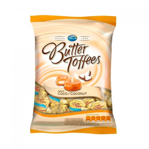 BALA BUTTER TOFFEES COCO 500 GR