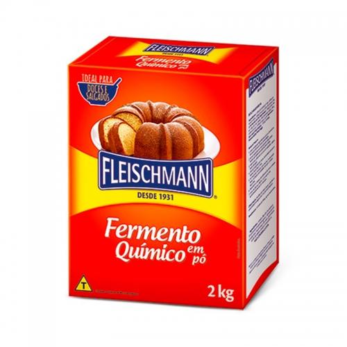 FERMENTO EM PO QUIMICO FLEISCHANN 2 KG