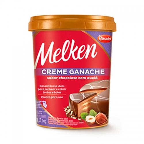 GANACHE CHOC/AVELA MELKEN HARALD 1 KG