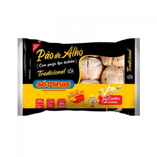 PAO ALHO BOLINHA TRADIC SOMINAS 12/300 G