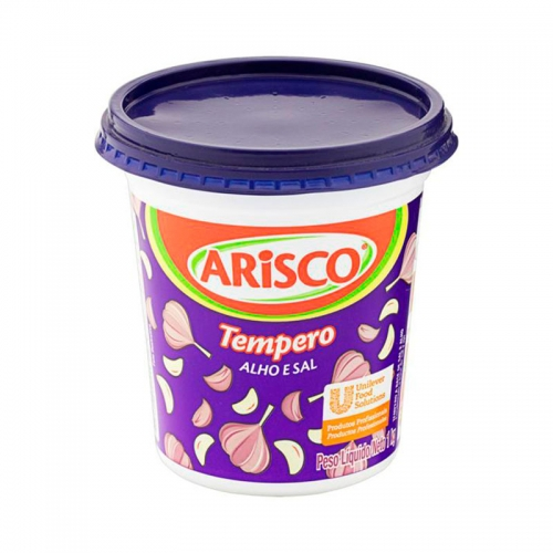 Tempero Alho com Sal 1kg Arisco