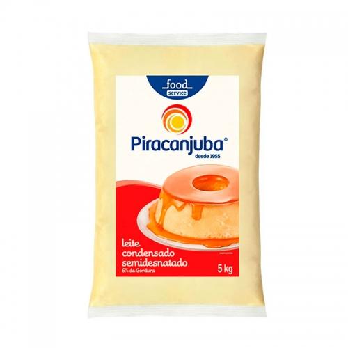 LEITE CONDENSADO SEMIDESNATADO PIRACANJUBA BAG 2/5KG
