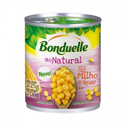 MILHO VERDE BONDUELLE NATURAL LATA 24/200 GR