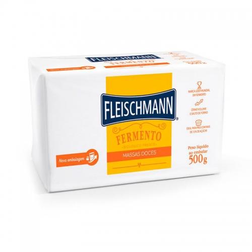 FERMENTO FRESCO DOCE FLEISCHMANN 500 GR