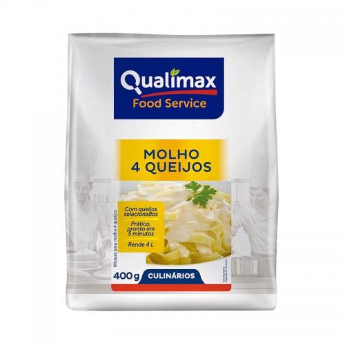 Molho 4 Queijos Qualimax 400 gramas