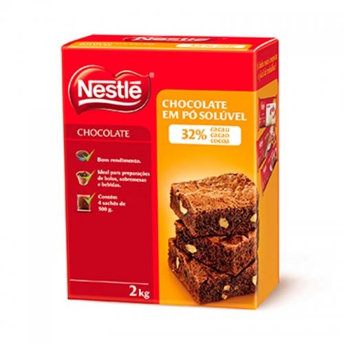 CHOCOLATE EM PÓ 32% NESTLÉ 2 KG