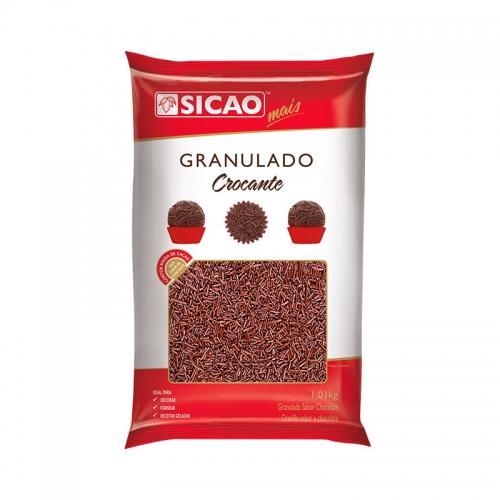 GRANULADO CROCANTE ESCURO SICAO 1,01 KG