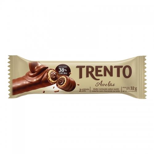 CHOCOLATE TRENTO AVELÃ 16/32 GR