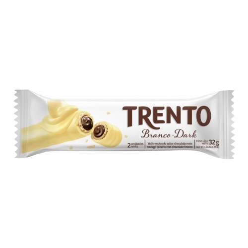 CHOCOLATE TRENTO CHOCOLATE BRANCO DARK 16/32 GR