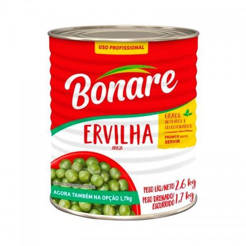 ERVILHA BONARE LATA 1,7 KG