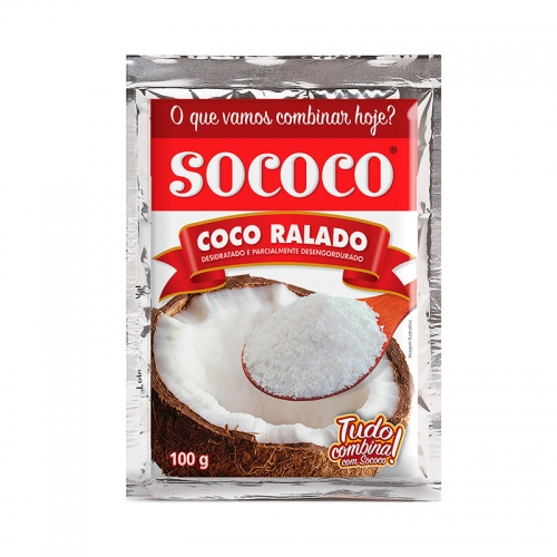 COCO RALADO SOCOCO 24 X 100 GR