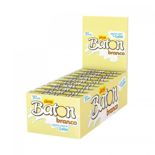 CHOCOLATE BATON BRANCO 30/16 GR