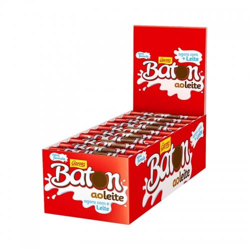CHOCOLATE BATON AO LEITE 30/16 GR