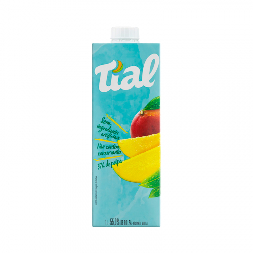 SUCO TIAL CAIXA TAMPA 12x1 LT MANGA