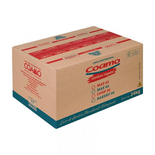 GORDURA MASSA BAKERY 36 COAMO 24 KG