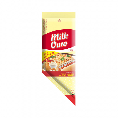 REQUEIJÃO CREMOSO COM AMIDO MILK OURO 1,8 KG