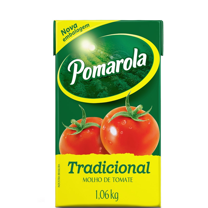 Molho de Tomate Pomarola 1,06kg