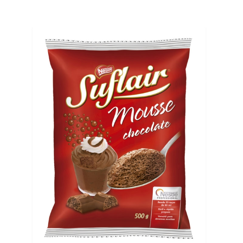 Mousse de Chocolate Suflair Nestlé 500grs