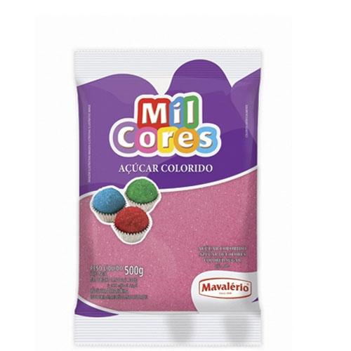 Açúcar Granulado Rosa Mavalério 500 grs
