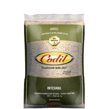 Arroz Codil Integral 10 uni. de 1 kg