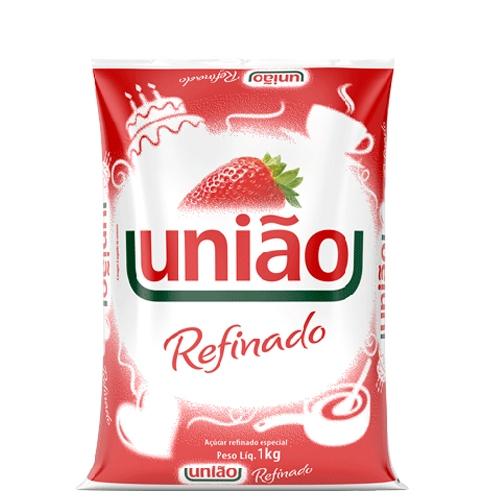 Açúcar Refinado União -10 uni. de 1Kg