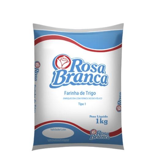 Farinha de trigo Especial Rosa Branca - Fardo 10 uni. de 1Kg