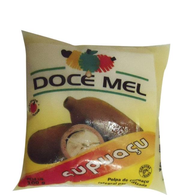 Polpa de Fruta Doce Mel Cupuaçu - Pacote de 10 uni. de 100grs