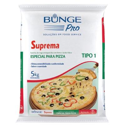 Farinha de trigo Bunge para Pizza 5Kg