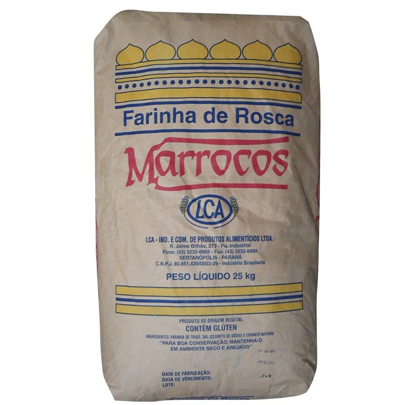 Farinha de Rosca Marrocos LCA 25Kg