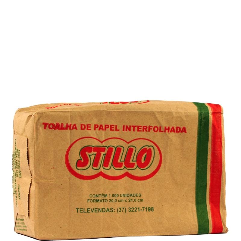 Papel Toalha Branco - Pacote com 1000 unidades