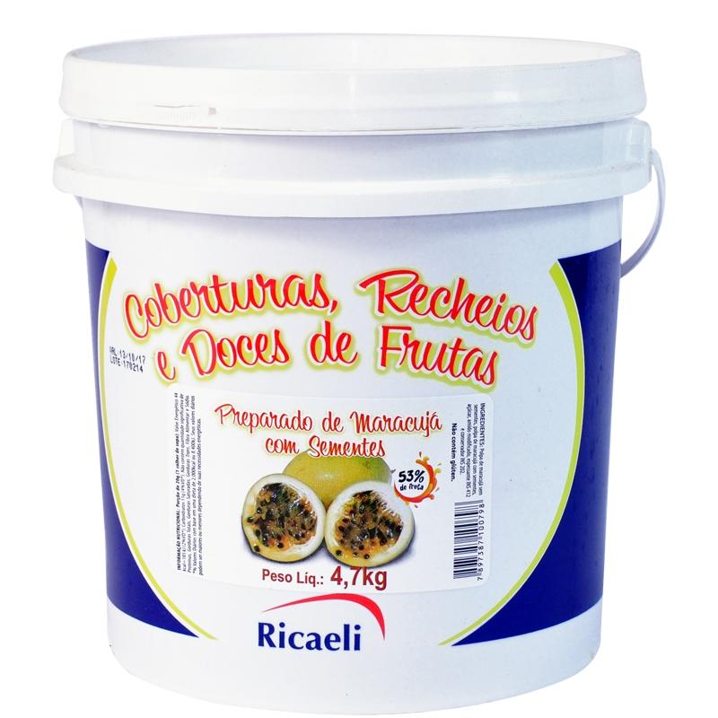 Polpa Maracujá Ricaeli 4,7kg