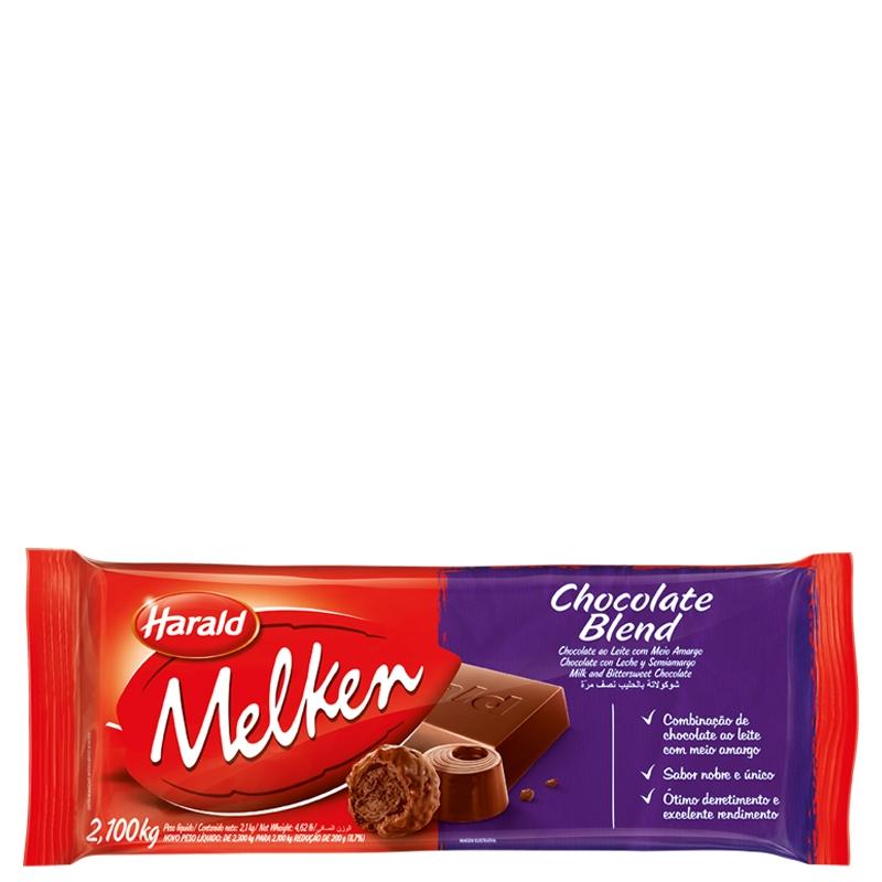 Barra Chocolate Melken Blend 2,10 Kg