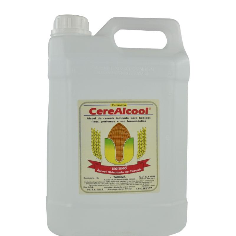 Álcool de Cereais 92,8 INPM 5 L