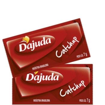 Sachet D'juda Catchup - Caixa com 192 unidades de 7grs