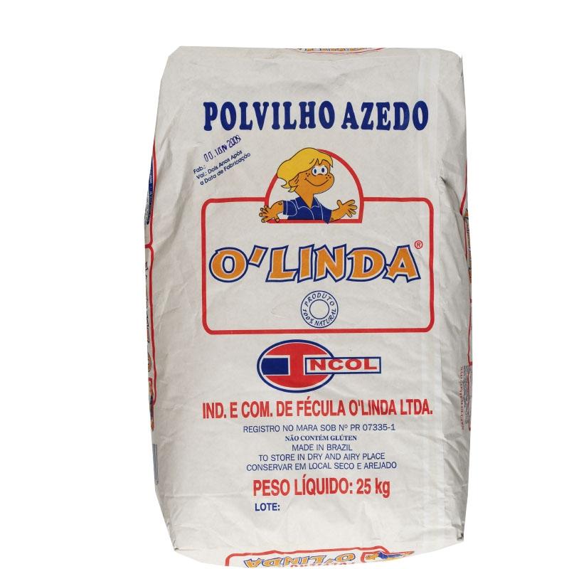 Polvilho Azedo O'Linda 25Kg
