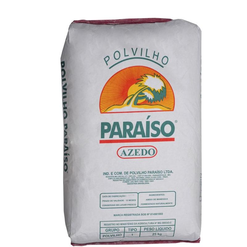 Polvilho Azedo Paraíso 25Kg