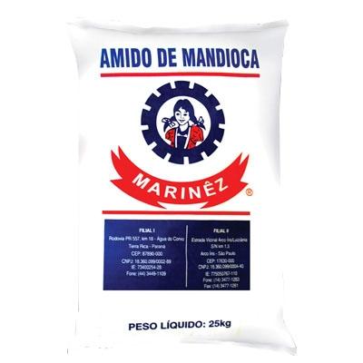 Fécula de Mandioca Marinêz 25Kg