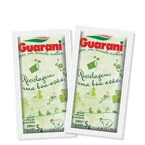 Sachet Açúcar Refinado Guarani 996 uni. de 5 grs