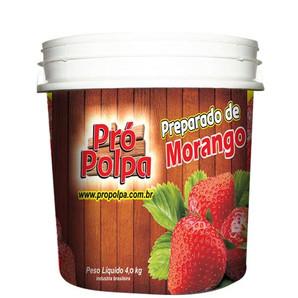 Polpa de Morango Pró Polpa 4 Kg