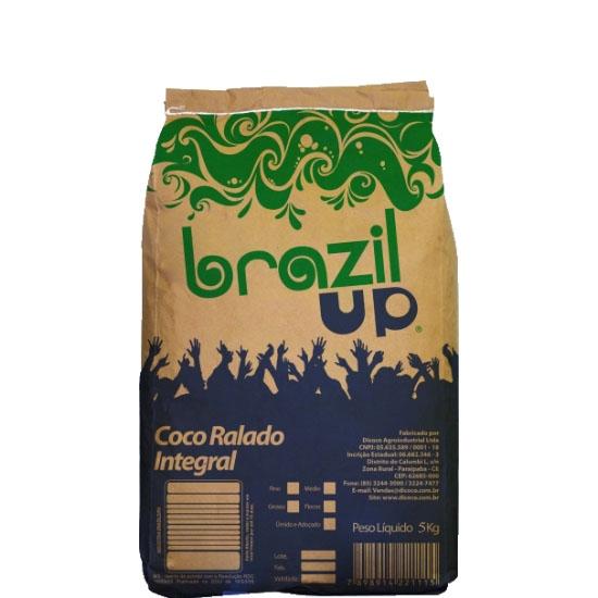 Coco Ralado Fino 5kg Brazil Up