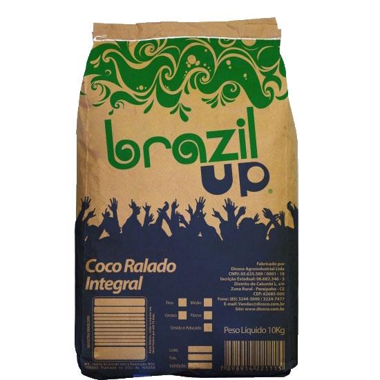Coco Ralado Fino 10kg Brazil Up