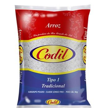 Arroz Codil Tipo 1 -  6 uni. de 5kg
