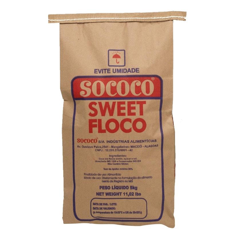 Coco Flocos 5kg Sococo
