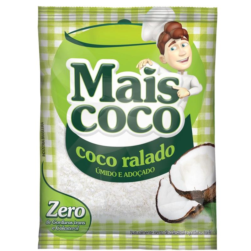 Coco Ralado Fino 1kg Mais Coco