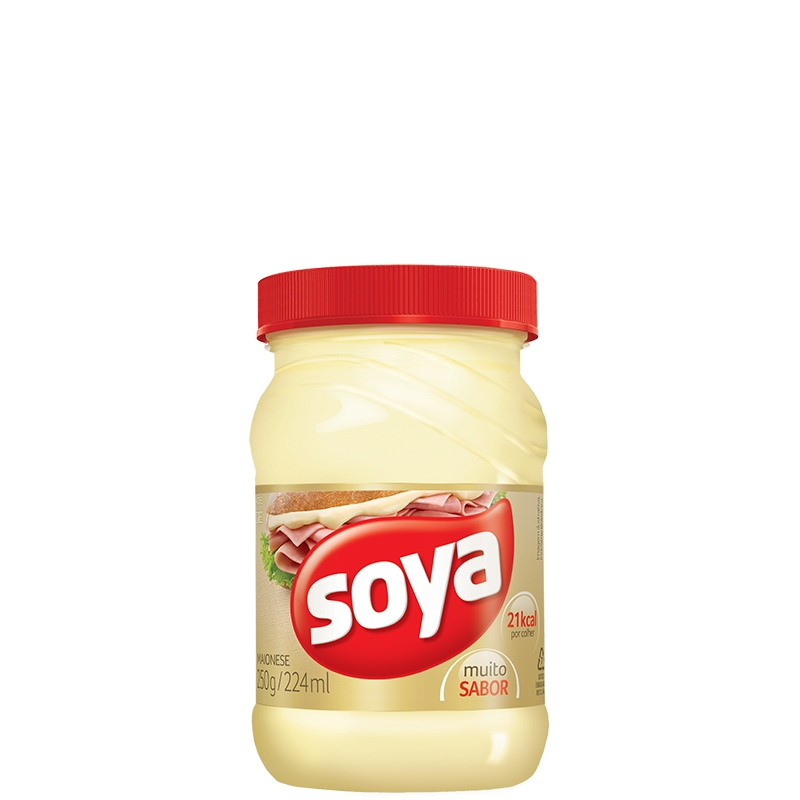 Maionese Soya Pote 250grs - 24 uni.