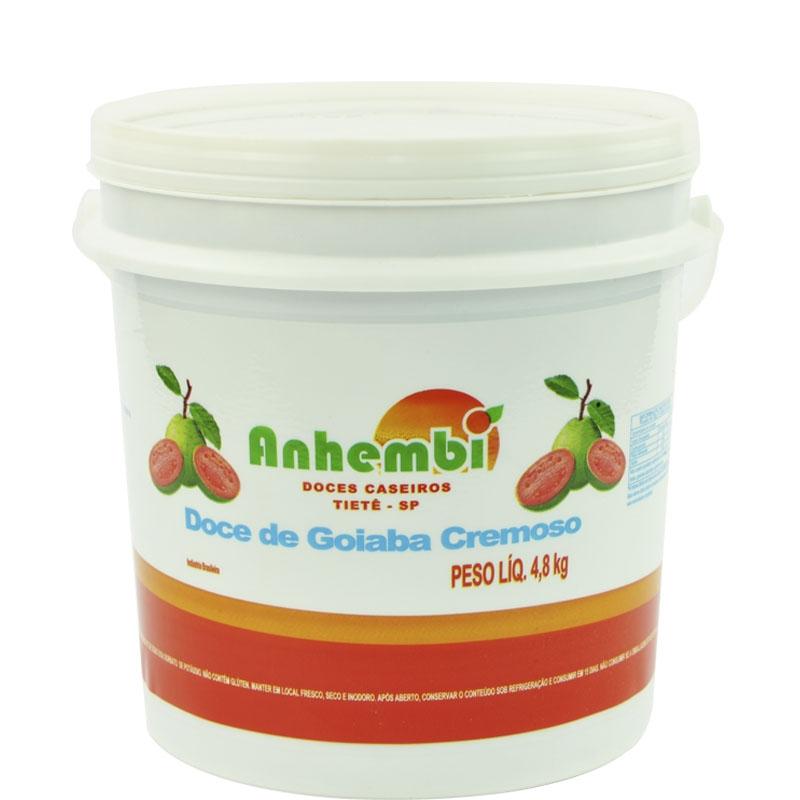 Doce de Goiaba Cremoso 4,8kg Anhembi
