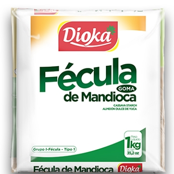 Fécula de Mandioca Dioka - 1kg