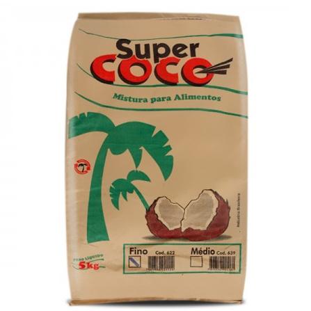 Coco Ralado Fino Supercoco 5kg