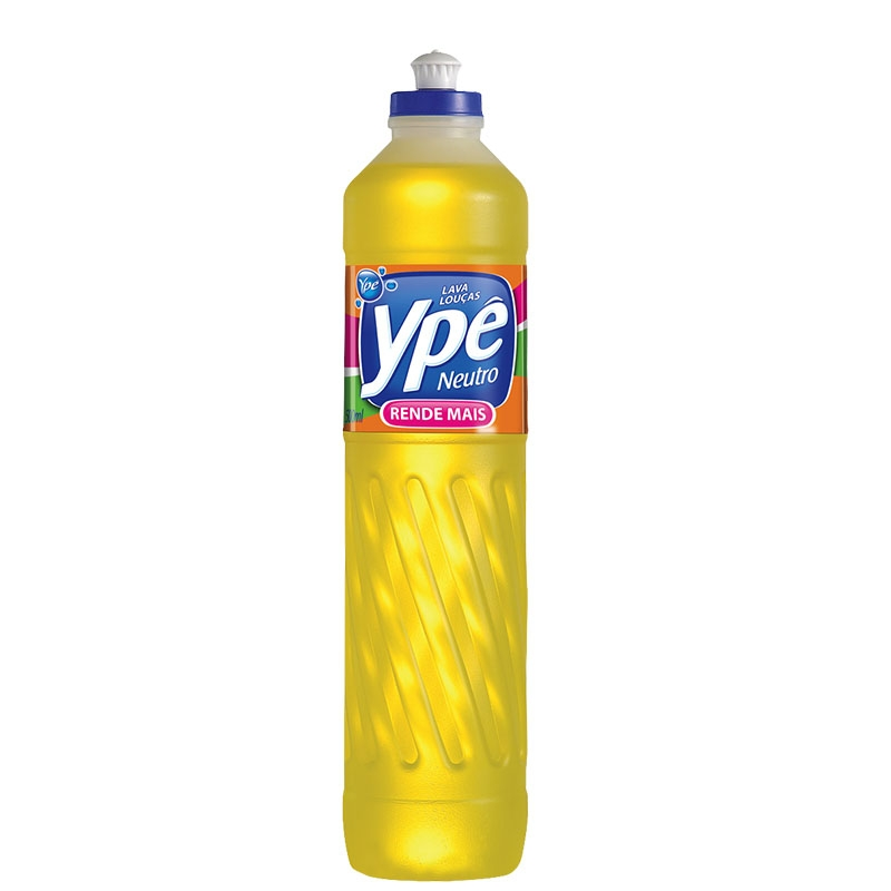 Detergente Liq. Ypê Neutro - Caixa com 24 uni. de 500ml