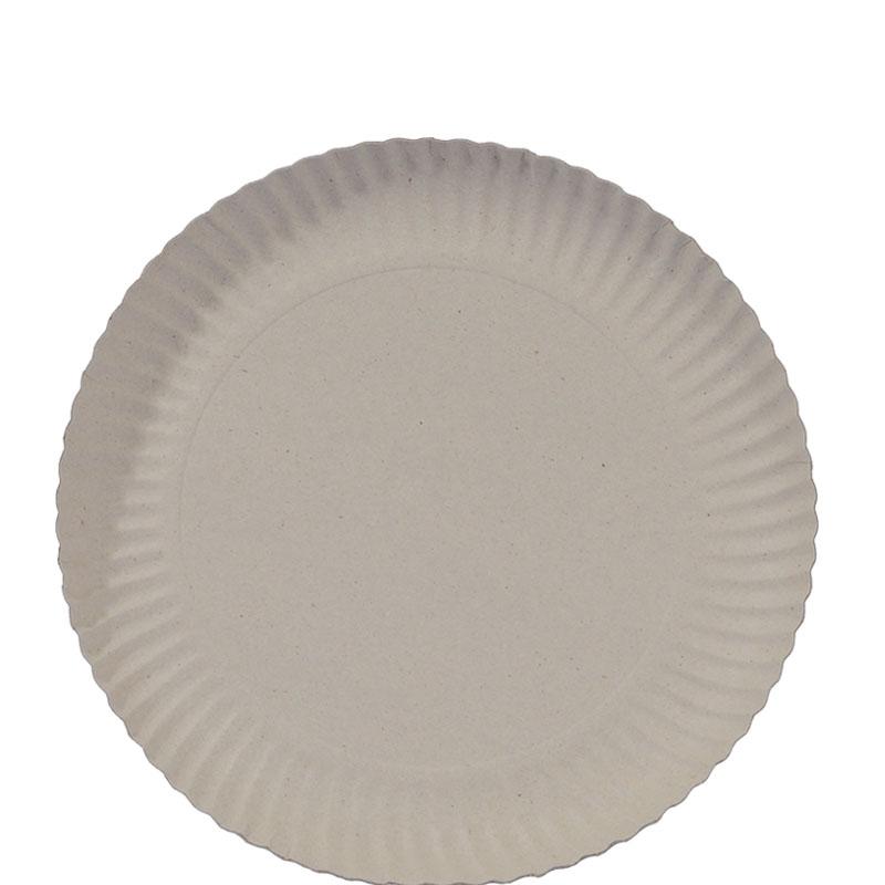 Prato de Papelão Nº 6 - 25 cm 100 und.
